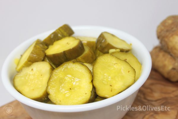 sweet horseradish pickles